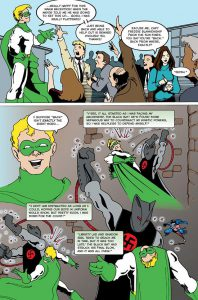 Captain Kinetic Issue 1, page 16