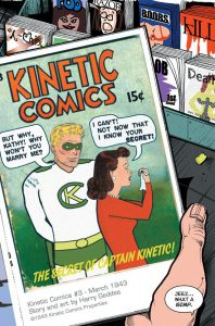 Captain Kinetic Issue 1, page 1