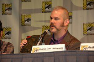 Zan on Gays in Comics panel