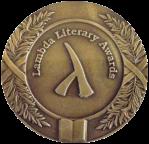 Lambda Literary Award medal