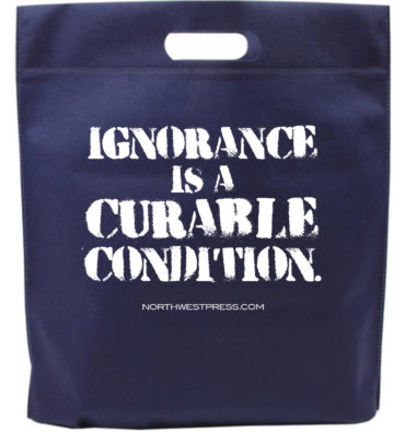 Ignorance is a Curable Condition tote